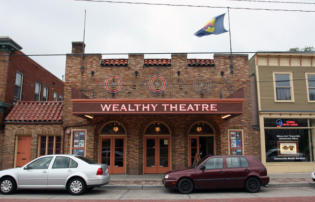 Wealthy Theatre, Grand Rapids, MI - exterior