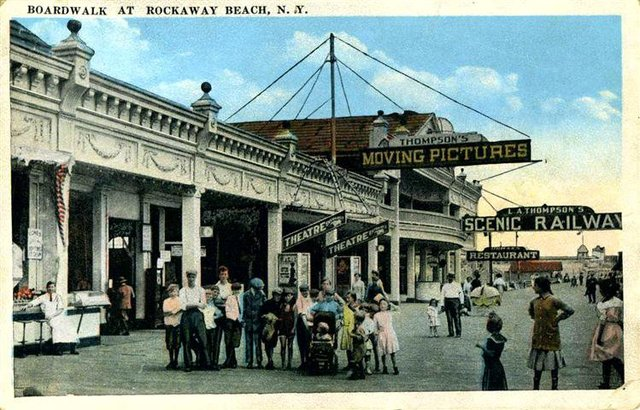 1913 postcard courtesy of Theatre Talks LLC Collection