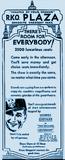 RKO Plaza Opening Ad