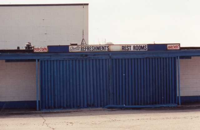 Refreshments/Rest Rooms 1992