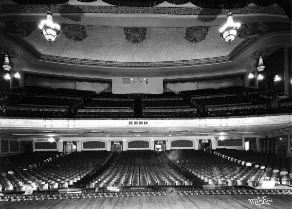 ORPHEUM (NEW ORPHEUM) Theatre; Madison, Wisconsin.
