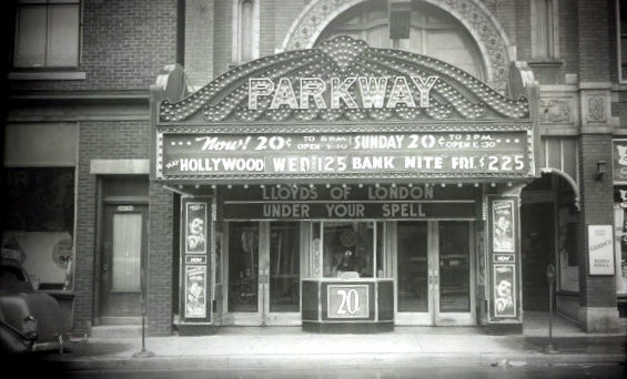 PARKWAY Theatre; Milwaukee, Wisconsin.