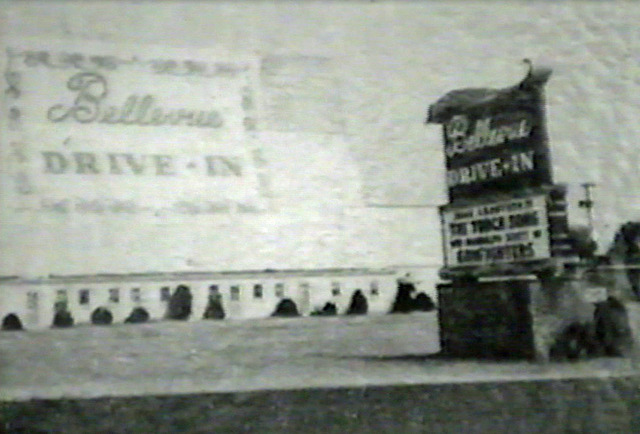 Bellevue Drive-In 1955