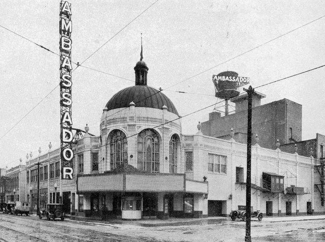 AMBASSADOR (ROCKNE) Theatre; Chicago, Illinois.