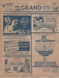January 1964 Coming Attractions