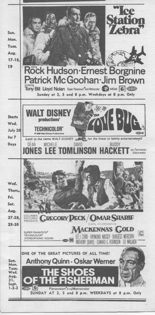 Program for August 1969
