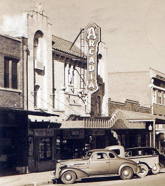 ARCADIA Theatre; Ranger, Texas.
