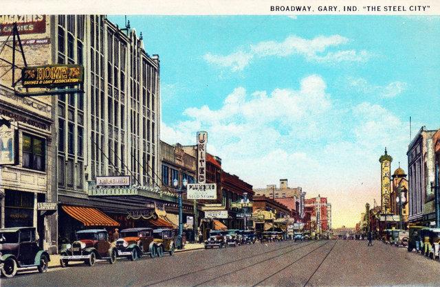 PALACE Theatre; Gary, Indiana.