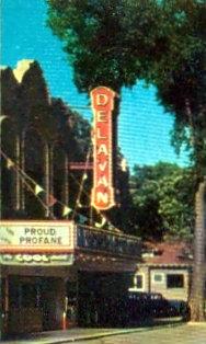 DELAVAN Theatre; Delavan, Wisconsin.