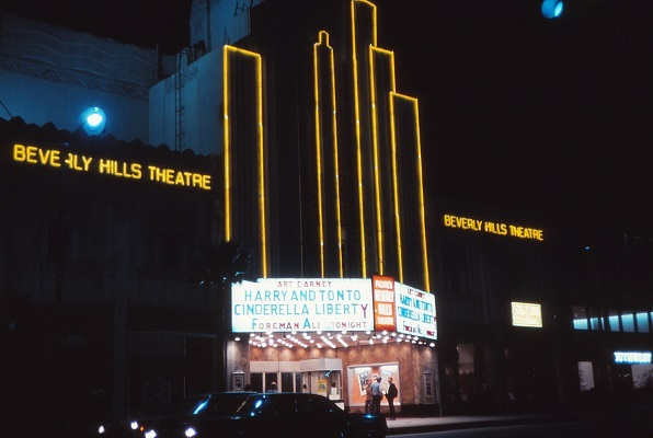 Warner Beverly Hills in 1974