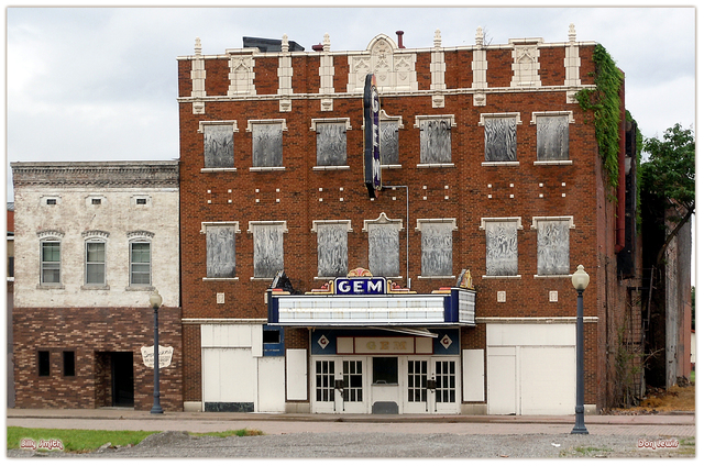 Gem Theatre ... Cairo Illinois
