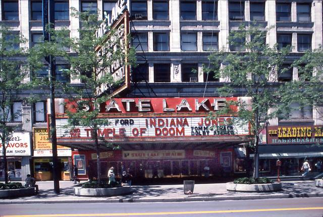 The last picture show at the State-Lake Theatre