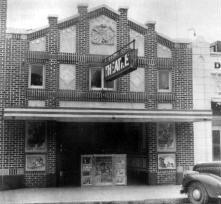 COLUMBIA Theatre; Ranger, Texas.
