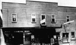 OPERA HOUSE Theatre; Ranger, Texas.