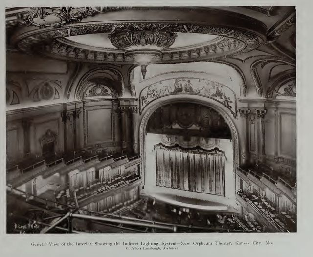 Orpheum Theater interior