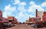 Downtown McAllen, 1954