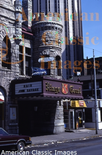 King's Court Theater, May 1979