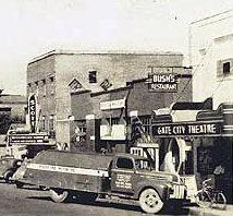 GATE CITY Theatre; Gate City, Virginia.