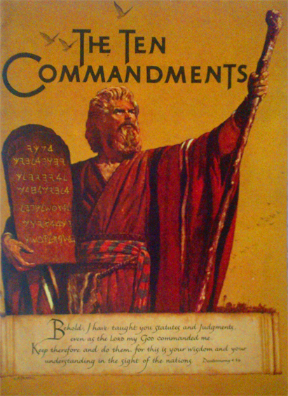 TEN COMMANDMENTS Programme