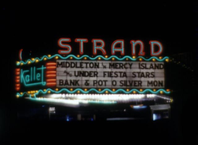 Stand Theatre, Rome, NY; 1941