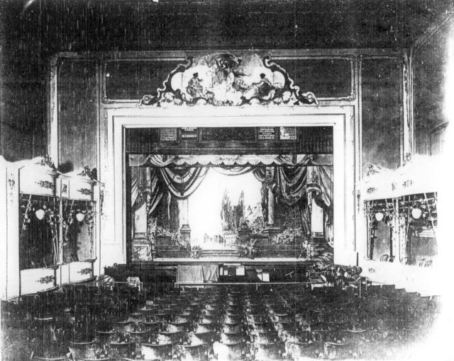 Interior, Strand Theatre, Rome, NY.