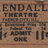 Kendall Theatre, Farmer City, IL - 11¢ ticket