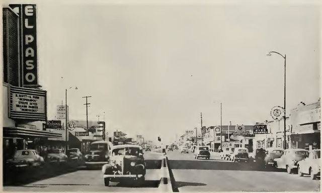 Del Paso circa 1950