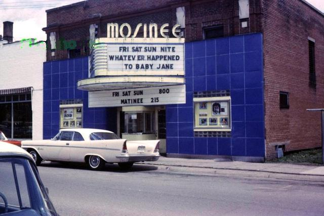 MOSINEE Theatre; Mosinee, Wisconsin.