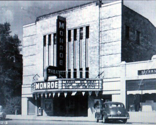 MONROE Theatre; Monroe, Michigan.
