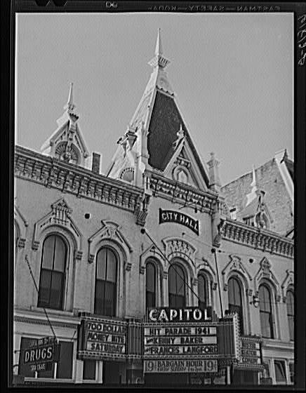 Capitol Theatre Marquee 1940/41