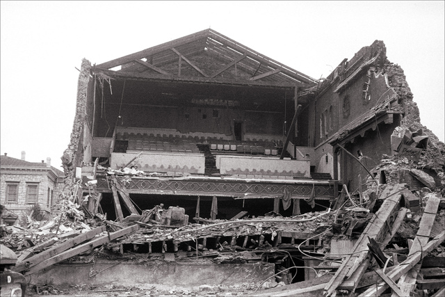 Capitol Theatre Demolition