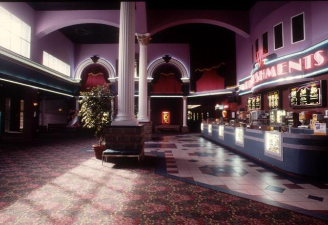 Lobby of the Majestic Cinema