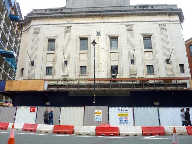 Odeon mcr demolition