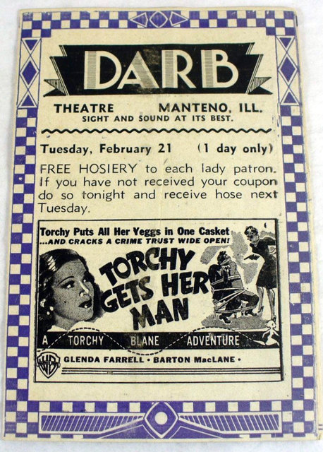 DARB Theatre; Manteno, Illinois.