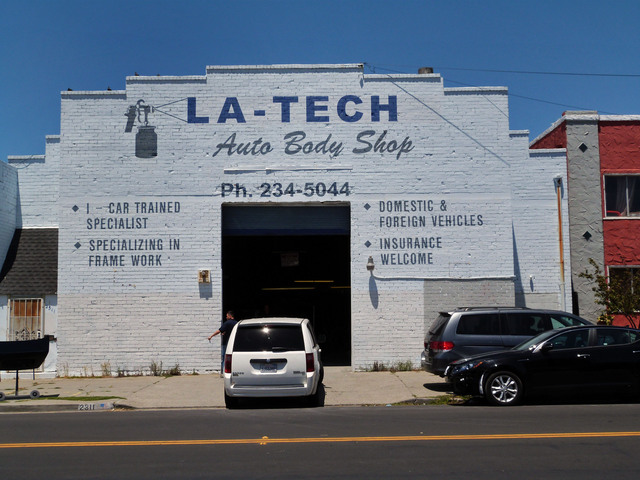 LA-TEch Body Shop (Formerly Grand Theatre)