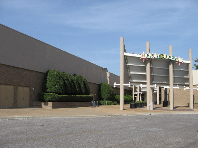 Hickory Ridge Mall Cinema--side entrance to mall
