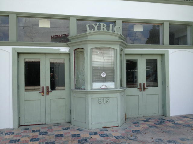 Lyric Theatre Ticket Booth
