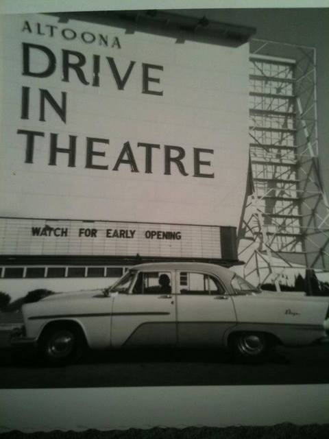 Altoona Drive-In Marquee