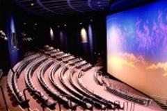 Interior of the CTI IMAX Theatre