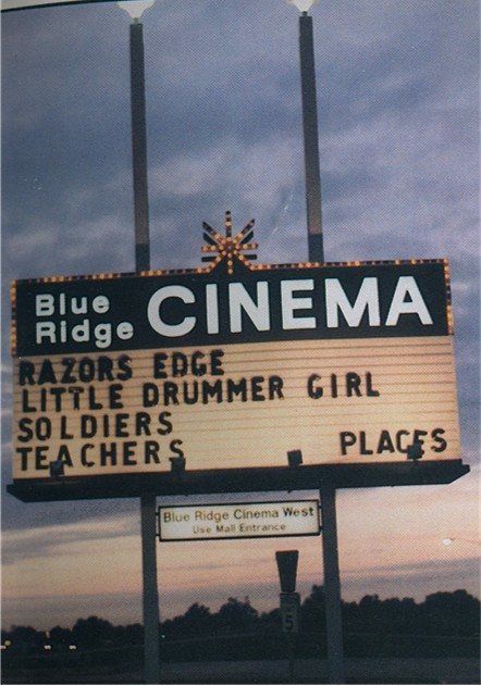 Blue Ridge East 1984