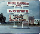 Original marquee from the Stan Malone Collection