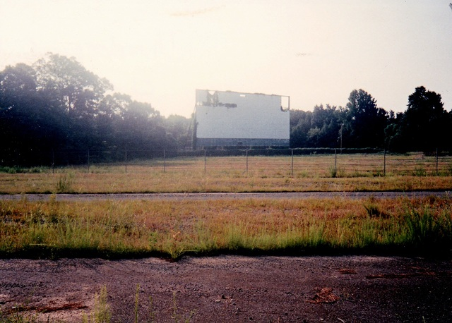 Thunderbird Drive-In, Charlotte NC Remains of 1993