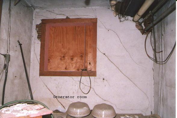 Generator room view 1