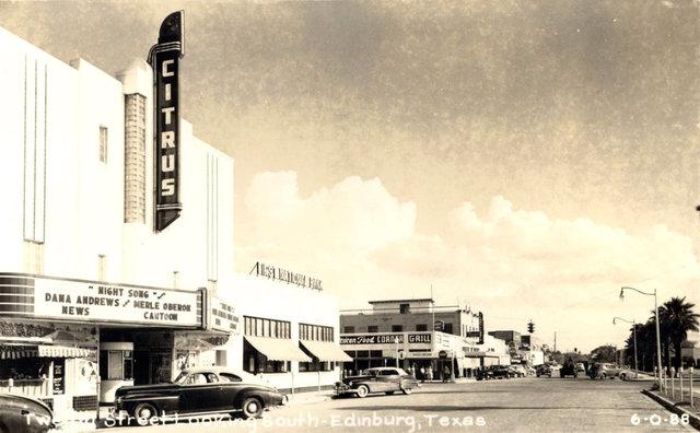 CITRUS Theatre; Edinburg, Texas.