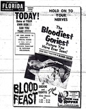 "Opening of ""Blood Feast"" at the Florida Theatre, Tampa FL"