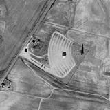 Aerial view of the 51 Drive-In