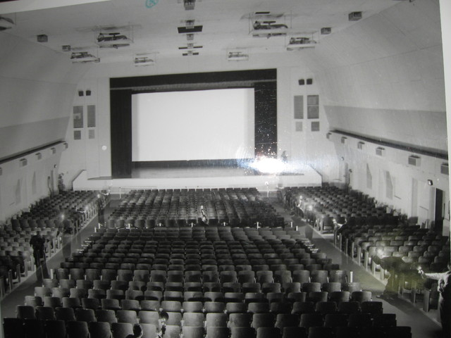 Naval Air Station Theatre interior