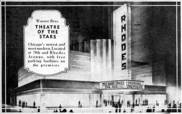 RHODES Theatre; Chicago, Illinois.