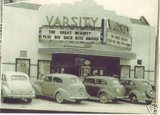 Varsity Theater about 1938