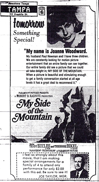 Joanne Woodward & Paul Newman Recommend Family Film